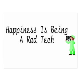 La felicidad está siendo una tecnología del Rad Postal