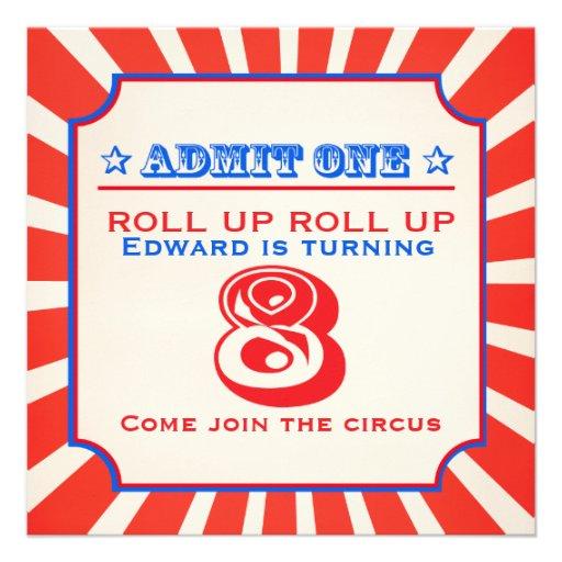 La feria de diversión del circo 8va embroma la inv