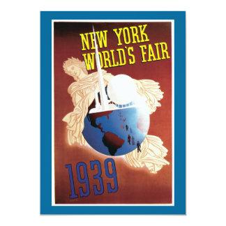La feria de mundo de Nueva York, 1939 Anuncio