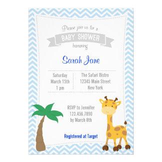 La fiesta de bienvenida al bebé animal de la jiraf