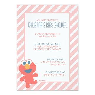 La fiesta de bienvenida al bebé de Elmo invita Invitación 12,7 X 17,8 Cm