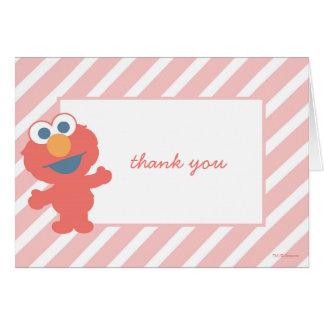 La fiesta de bienvenida al bebé de Elmo le Tarjeta Pequeña