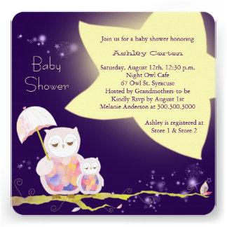 La fiesta de bienvenida al bebé de los búhos de la