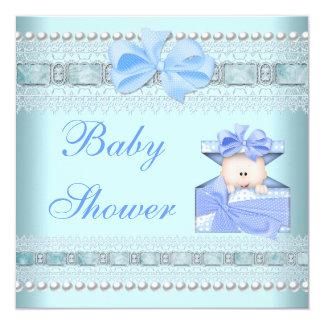 La fiesta de bienvenida al bebé invita a los invitación 13,3 cm x 13,3cm