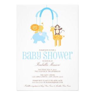 La fiesta de bienvenida al bebé móvil de los anima comunicado personalizado