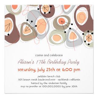 La fiesta de cumpleaños adolescente adulta de los