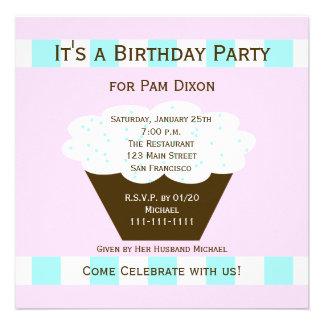 La fiesta de cumpleaños adulta invita -- Magdalena