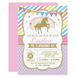 La fiesta de cumpleaños de la invitación del