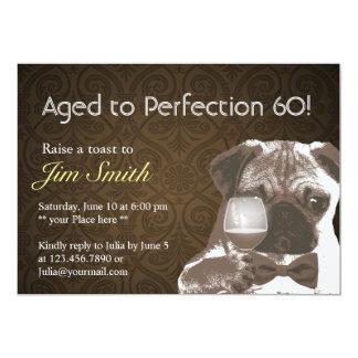 La fiesta de cumpleaños de la perfección 60 del anuncios