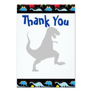 La fiesta de cumpleaños del dinosaurio de T Rex le Invitación 8,9 X 12,7 Cm
