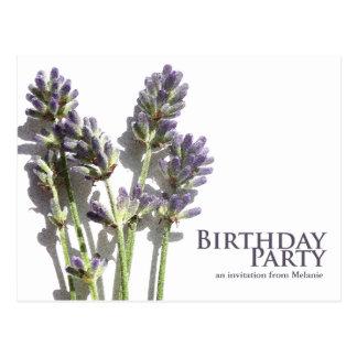 La fiesta de cumpleaños del manojo el | de la lava tarjeta postal