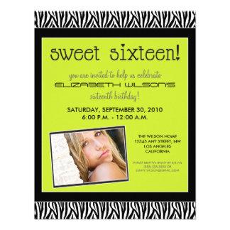 La fiesta de cumpleaños enrrollada del dulce 16 de comunicado