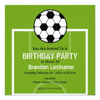 La fiesta de cumpleaños invita - al campo de invitación 13,3 cm x 13,3cm