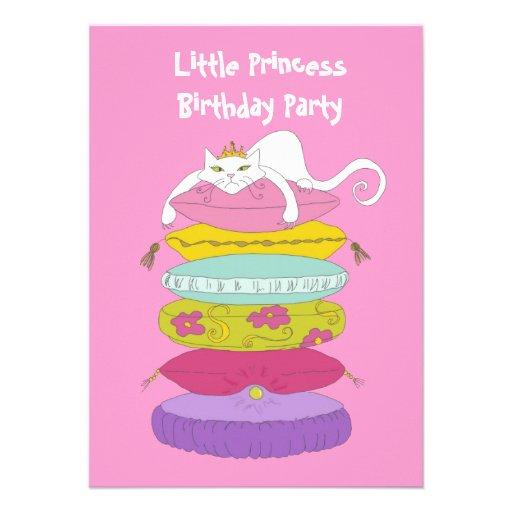 La fiesta de cumpleaños linda de la diversión de l invitación personalizada