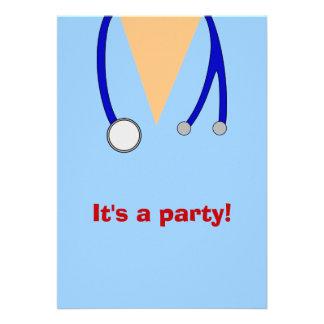 La fiesta de graduación de la escuela de enfermerí
