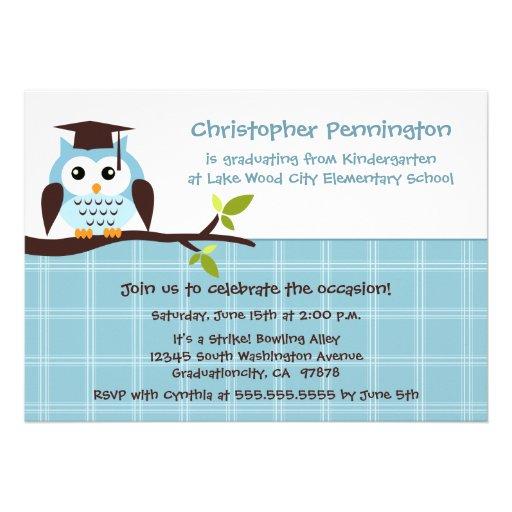 Elementary School Graduation Party Invitations