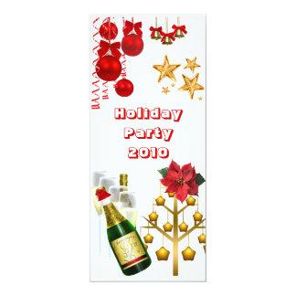 La fiesta de Navidad del día de fiesta de la Invitacion Personal