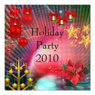 La fiesta de Navidad del día de fiesta de la Invitación Personalizada