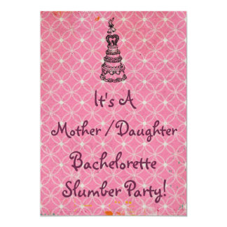 La fiesta de pijamas de Bachelorette de la hija de Comunicado Personalizado