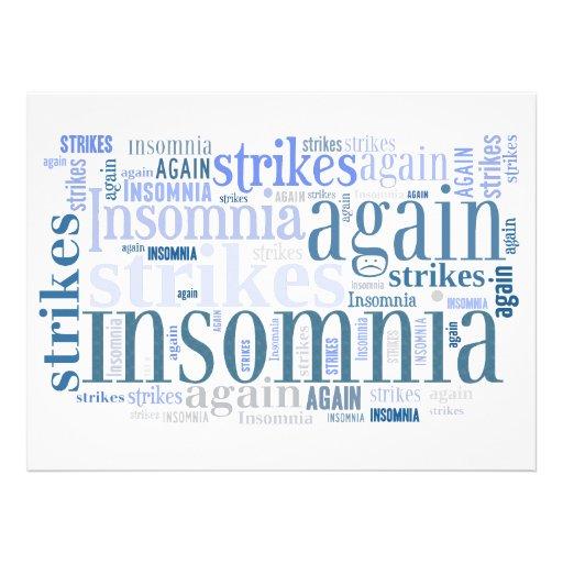 La fiesta de pijamas de las huelgas del insomnio i anuncios