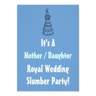 La fiesta de pijamas real del boda de la hija de comunicados personalizados