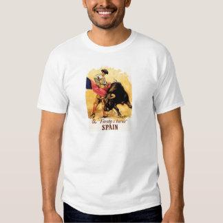 La fiesta De Toros In España Camisetas