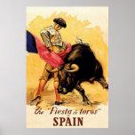 La fiesta De Toros In España Póster
