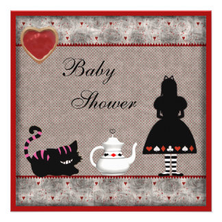 La fiesta del té de la fiesta de bienvenida al beb comunicados personales