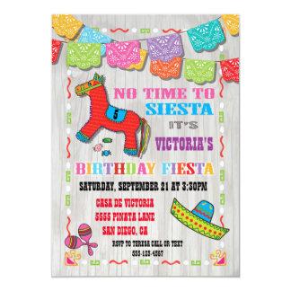 La fiesta mexicana embroma la invitación de la