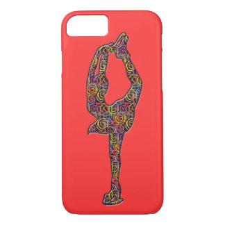 La figura caso Swirly del iphone del patinador Funda iPhone 7