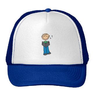 La figura del palillo canta el gorra