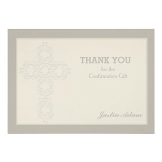La filigrana cruzada religiosa le agradece Notecar