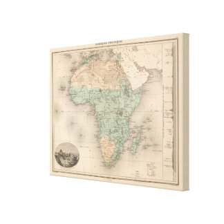 La física África Lona Estirada Galerias