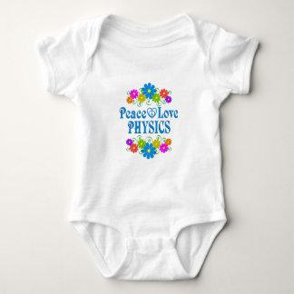 La física del amor de la paz body para bebé