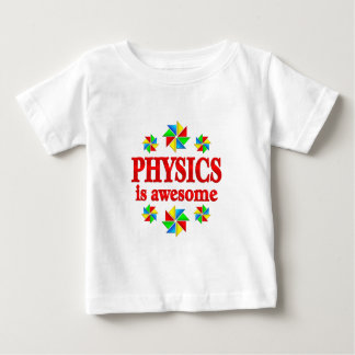 La física es impresionante camiseta de bebé