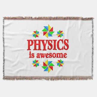 La física es impresionante manta