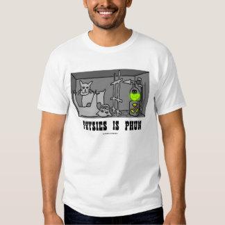 La física es Phun (los mecánicos de Quantum) Camiseta