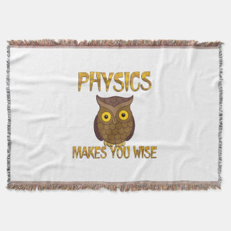 La física le hace sabio manta
