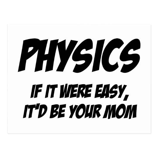 La física postal