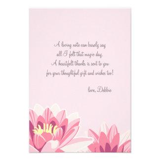 La floración le agradece las notas comunicado personal
