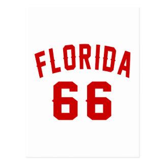 La Florida 66 diseños del cumpleaños Postal