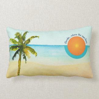 La Florida… Donde vive el Sun pacífico vare Cojín Lumbar