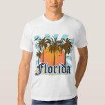 La Florida el estado del sol los E.E.U.U. Camisetas