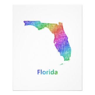 La Florida Folleto 11,4 X 14,2 Cm