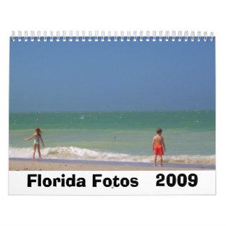 La Florida Fotos   2009 Calendario De Pared