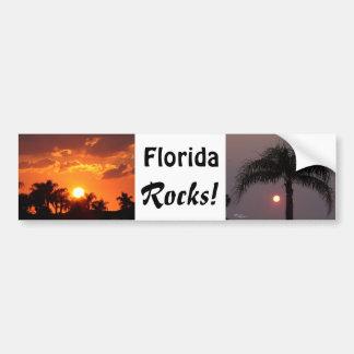La Florida oscila a la pegatina para el parachoque