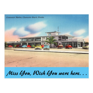 La Florida, puerto deportivo de Clearwater, playa Postal