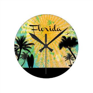 La Florida, silueta de la playa Reloj Redondo Mediano