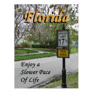 La Florida: una postal más lenta del paso