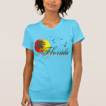 La Florida vara puesta del sol Camisetas